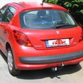 tažné zařízení Peugeot 207