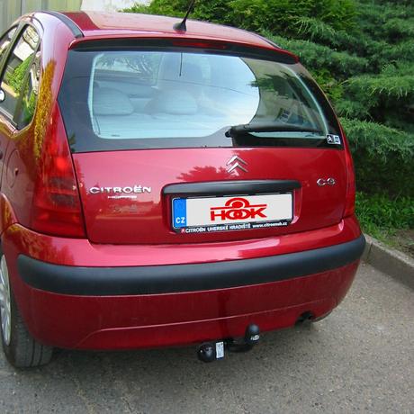 neodnímatelné tažné zařízení Citroën C3