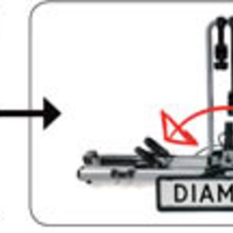 nosič na 2 kola diamant 2