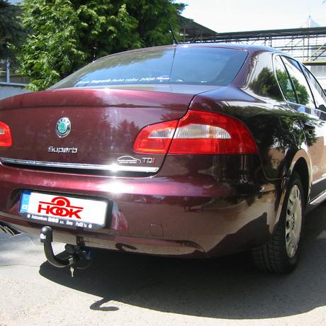 Tažné zařízení Škoda Superb