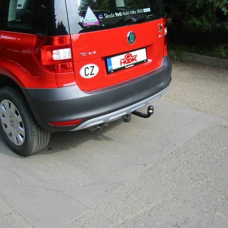 tažné zařízení Škoda Yeti