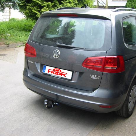 tažné zařízení VW Sharan